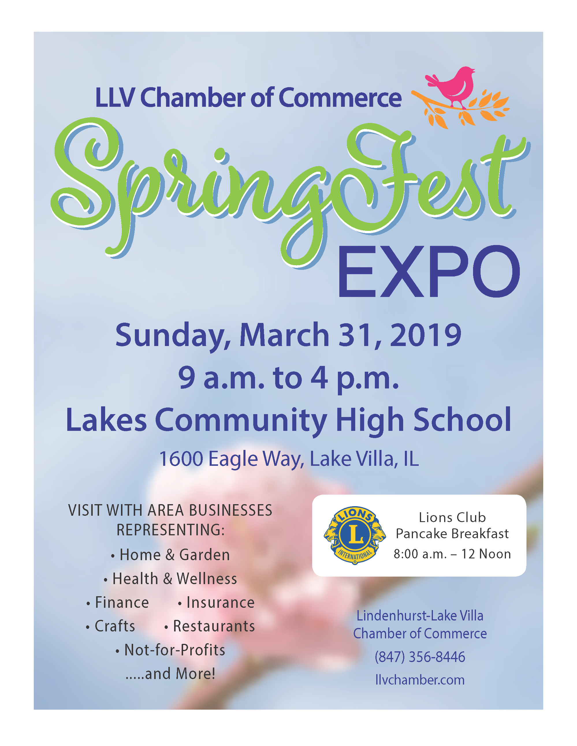 Local Event: Lindenhurst-Lake Villa Chamber Spring Expo - Tom Weber